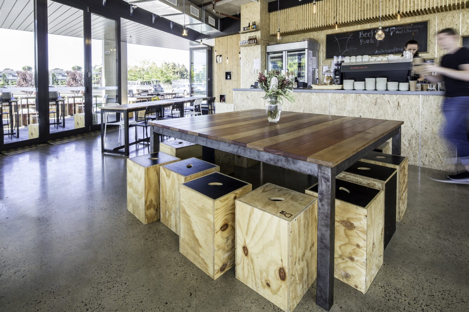 REVEAL | Beef & Barley: Pared-back Minimalist Foreshore Eatery