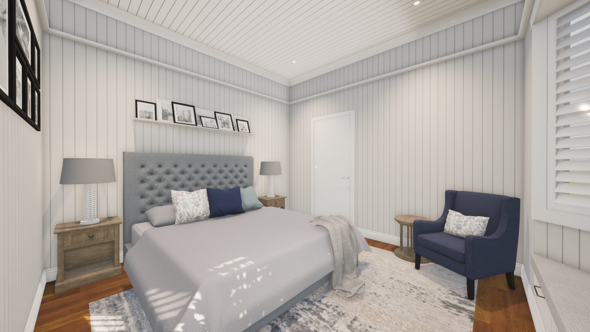 COVER Hamptons style Master Bedroom 2