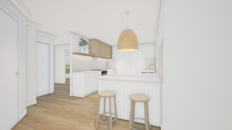 Read more about the article 3D RENDER | SPRINGFIELD LAKES KITCHEN