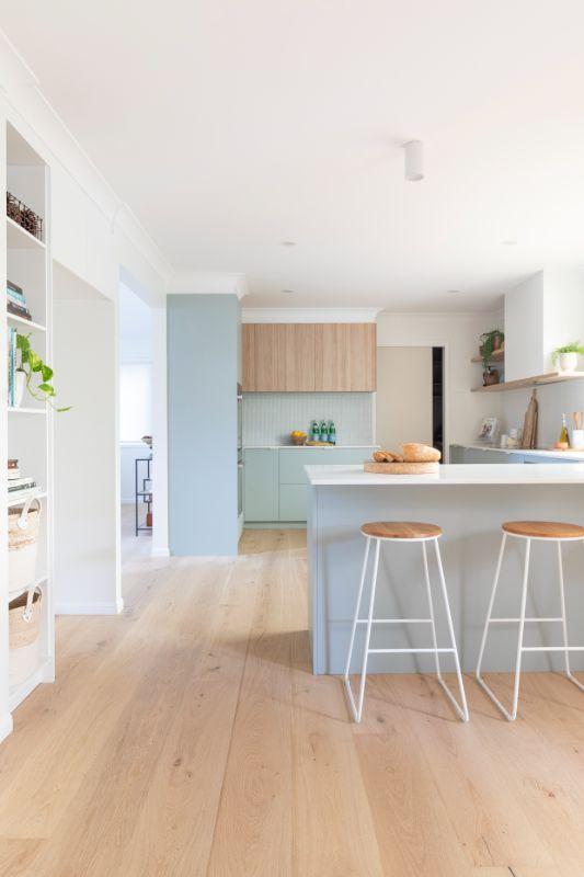 neutral colour palette blue cabinets duck egg blue fresh kitchen nordic scandinavian kitchen midcentury