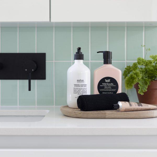 Bathroom Renovation with Black Tapware - Bella Vie Interiors-min